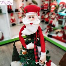 Santa Christmas Tree Topper Merry Pendant  Xmas Ornament Decor For Home Noel New Year 2020