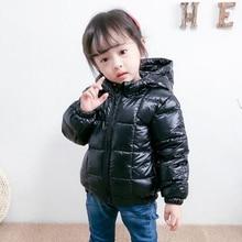 Chlidren Kids Boys Girl Winter Coats Jacket Zip Thick Snow Hoodie Outwear Childrens suit High Quality Children Short Hoody Coat