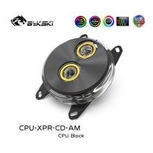 Bykski CPU-XPR-CD-AM/CPU-XPR-CD CPU su bloğu Intel/AMD Ryzen AM2 AM2 + AM3 AM4 FM2 FM1 12V/5V AURA PC su soğutma