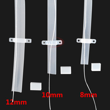 5m/10m length 8mm/10mm/12mm Silicon tube IP67 for SMD 5050 3528 3014 5630 ws2801 ws2811 ws2812b waterproof led strip light