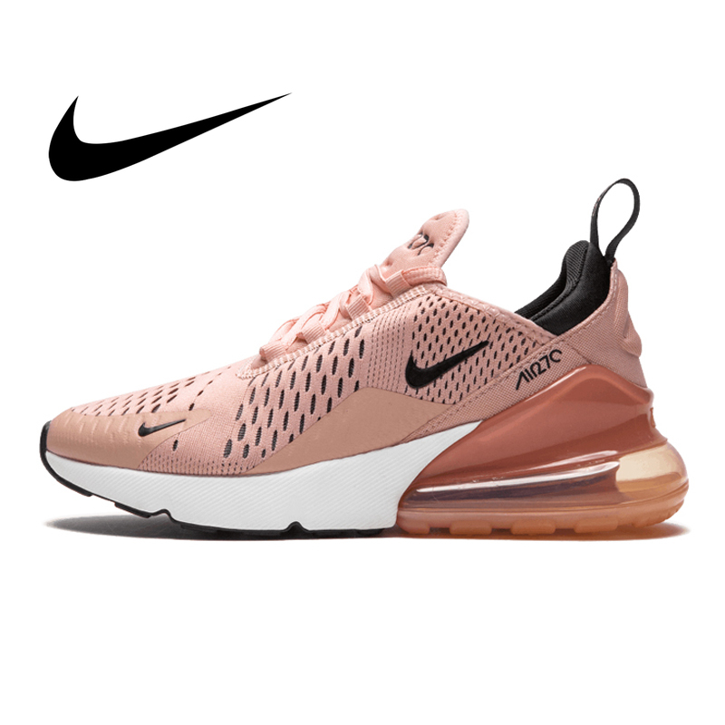 Original Authentic Nike Air Max 270 Women's Running Shoes Sport Outdoor Sneakers  Footwear Designer Height Increasing 943345