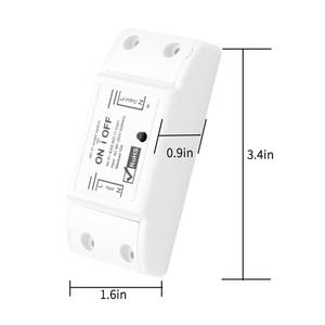 Image 2 - Smart Wifi Switch Wireless Light Timer Switch Remote Control 2pcs/Lot Tuya Smart Life APP works with Alexa Google home  IFTTT