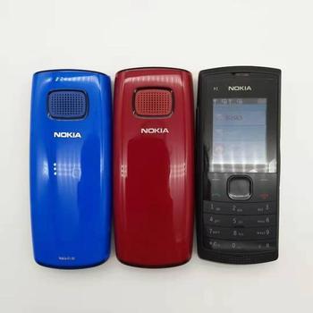 100% original unlocked X1-00 Nokia X1-00 dual sim card mobile phones GSM bar cellphones one year warranty  refurbished