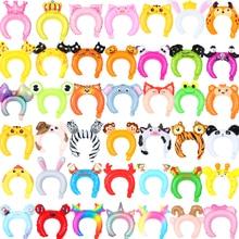 Foil Balloons Headband Rabbit Toy Shower Globos Halloween-Decor Panda Animal Birthday-Party
