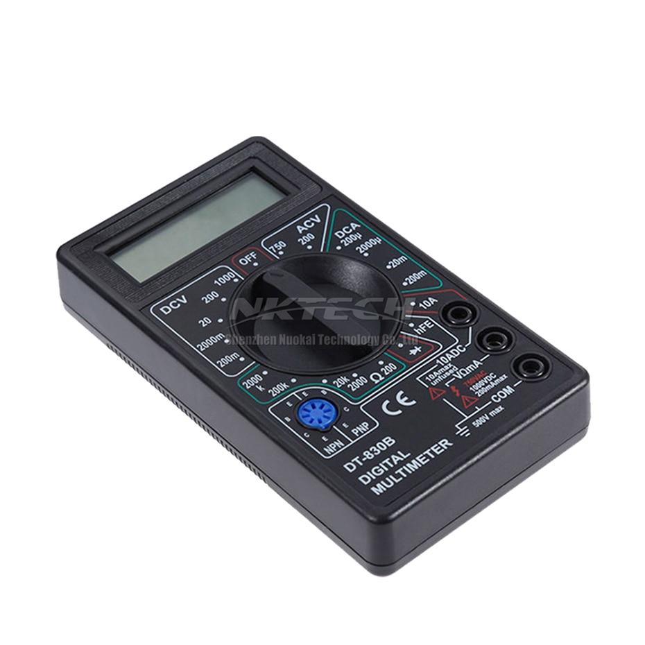 NKTECH DT830B skaitmeninis multimetras, kišeninis voltmetras, - Matavimo prietaisai - Nuotrauka 4