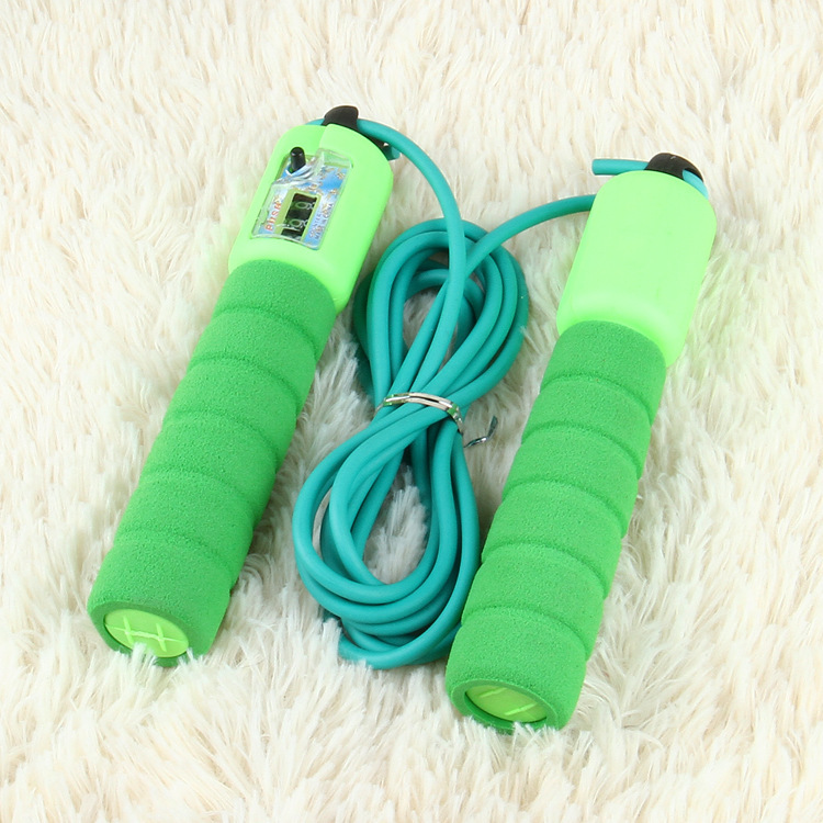Manufacturers Direct Selling Sponge Handle Bearing Jump Rope Students Examination Exclusive Jump Rope Sports Supplies