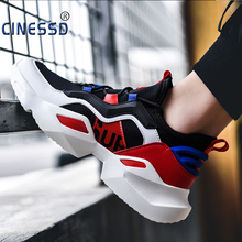 CINESSD Size 48 Male Sneakers Men Casual Shoes Walking Outdoor Shoes Flat Comfortable Lightweight Breathable Shoes For Man воблер тонущий rapala countdown cd07 s 1 5м 2 4м 7 см 7 гр