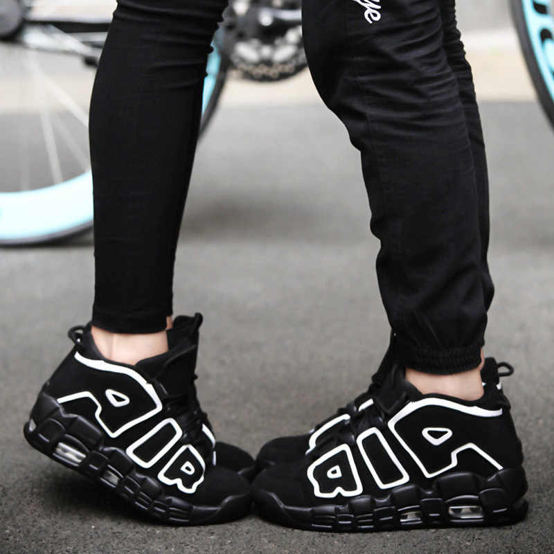 2018 New Arrival Basketball Shoes Men Women Original Air More Uptempo Breathable All Professional Star Shockproof Sneakers
