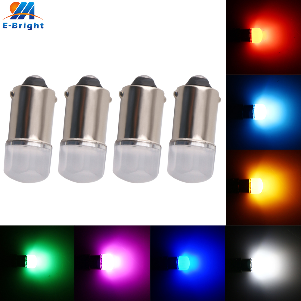 4X 6 volt BA9S 5630 flood Led Bulb Flashlight pinball machine toy game car 70Lm Warm White Blue Amber Waterproof 6V H6W T11 T4W image