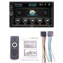 1Set Car Multimedia MP5 Player Entertainment Video Audio Stereo Radio USB FM HD Touch Screen Digital Display Bluetooth Autoradio цена