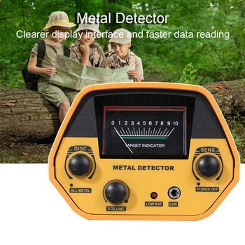 GTX5030 con bobina impermeable, Detector de metales portátil con vástago ajustable, pantalla LCD profesional, función de disco excavador dorado