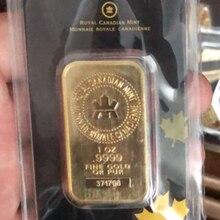 1 oz série de barras de ouro a perth hortelã barra de lingotes de ouro chapeado a ouro da barra de réplica argor apmex lingotes de ouro
