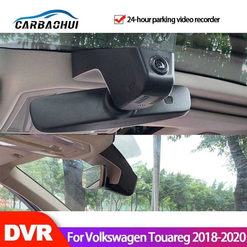 Автомобильный видеорегистратор с Wi-Fi, видеорегистратор для Volkswagen Touareg 2018 2019 2020 2021, высокое качество, ночное видение, full hd CCD