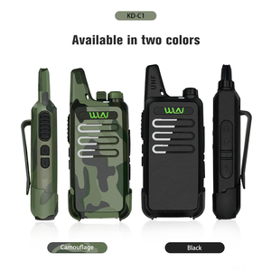 Image 4 - WLN KDC1 MINI Handheld Walkie Talkie  KD C1 FM transceiver Two Way Radio Ham Communicator KD C1 Radio Station Wireless Intercom