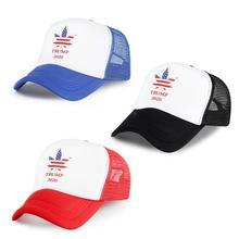 America Flag Baseball Caps Trump 2020 Print Snapback Hats Make Great Again Hat Simple Casquette Sports Cap