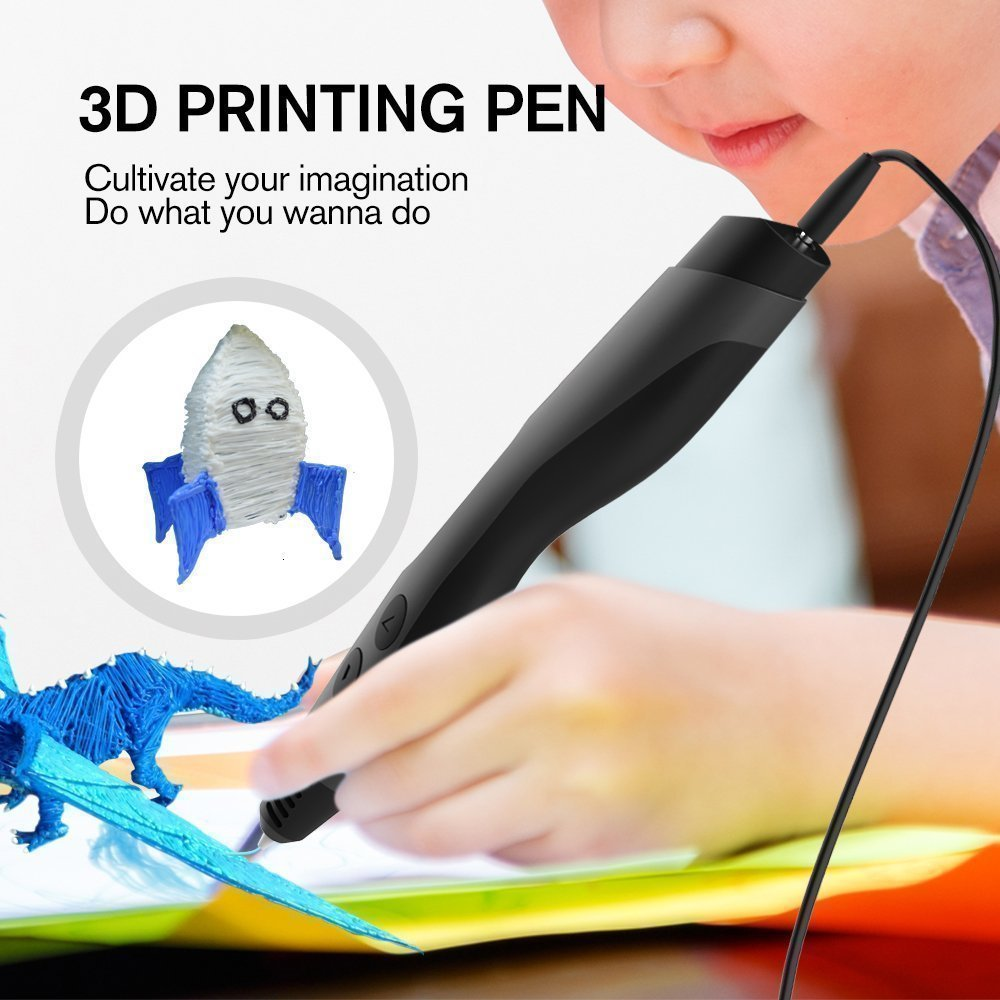 SUNLU 3D Pen With Filament Holding Hole And LCD Screen For Drawing