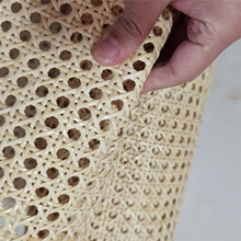 Furniture Rattan Webbing Roll Width 60cm*3-4meters Natural Real Cane for Chair Table