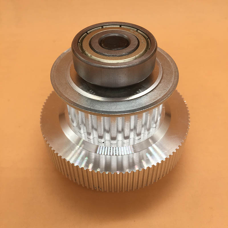 Xaar 382 printhead motor pulley gear for Wit color Xenon 2000 3000 9100 9200 inkjet printer double decked gear tower pulley