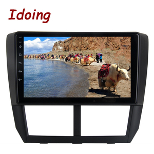 """Image 4 - Idoing 1Din 9""""Car Radio GPS Multimedia Player Android Auto For Subaru Forester 2008 2012 4G+64G Octa Core Navigation Head Unit"""
