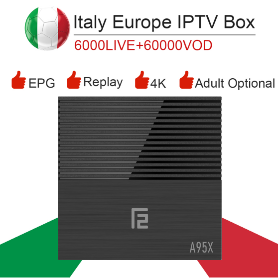 A95X F2 Android 9.0/S905WX2/Dual wifi/4K Smart Tv box&italy super iptv subscription Germany Albania Turkey UK ExYu adult iptv