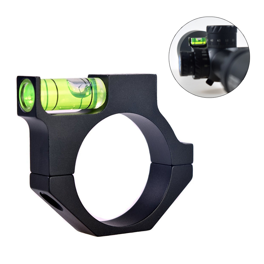 25.4mm/30mm Picatinny Weaver Liquid Balance Spirit Level Scope Mount Adapter For Rifle Paintball Military Hunting Shooting