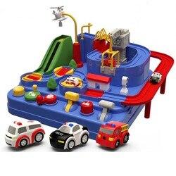 Bebê brilhante educação railcar brinquedo eco-friendly bebê aventura brinquedo carro macaron cor tabela jogos menino e menina quebra-cabeça brinquedos