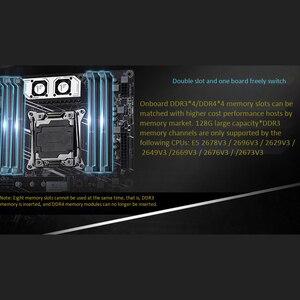 Image 3 - HUANANZHI X99 TFเมนบอร์ดDual M.2 NVME SLOTรองรับทั้งDDR3 และDDR4 LGA2011 3 และLGA 2011