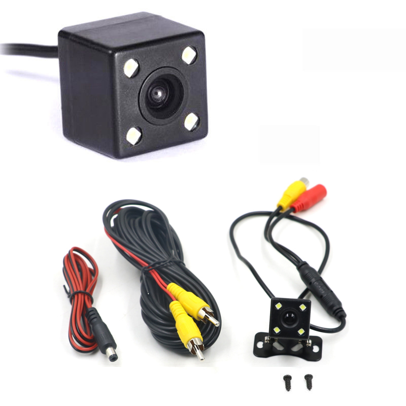 Car-Rear-View-Camera Backup Video Wide-Angle Night-Vision HD 4-Led 170