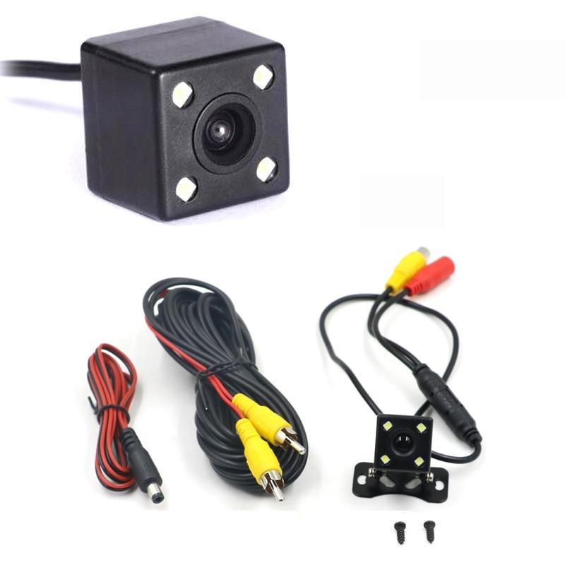 Auto rückansicht kamera HD rückansicht video fahrzeug kamera Backup Reverse Kamera 4 LED Nachtsicht Parkplatz Kamera 170 ° Weitwinkel