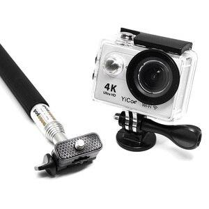 Image 2 - MountDog Selfie Stick Monopod สำหรับ GoPro Hero7 6 5 4 3 SJCAM Yi 4 K Action Action กล้องขาตั้งกล้อง GO pro อุปกรณ์เสริม