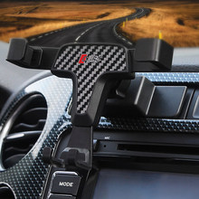 Lhd suporte do telefone para volkswagen tiguan 2016 2015 suporte de ventilação ar do carro gps suporte do telefone montagem para tiguan 2010 2011 2012 2013 2014