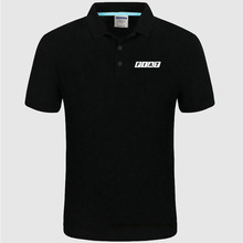 Для лого Fiat рубашка поло мужская летняя с коротким рукавом рубашка поло хлопок Весна повседневные мужские поло a