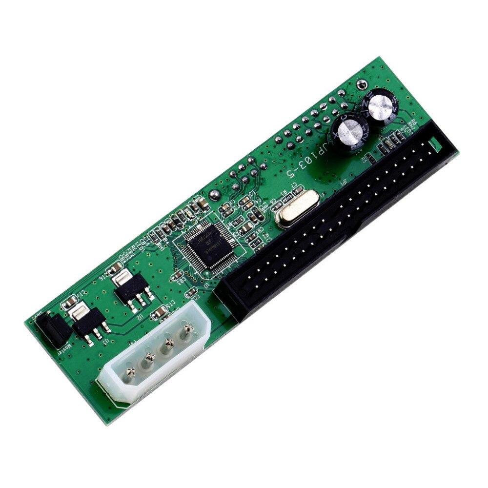 SATA TO PATA IDE Converter Adapter Plug&Play 7+15 Pin 3.5/2.5 SATA HDD DVD Drop Shipping