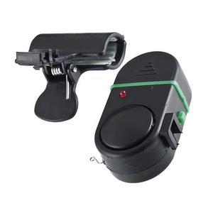 Waterproof Fishing Alarm Fishing Rod Electronic Sound Light Alarm Bell Portable Fishing Rod Pole Tool Black Alarm Bell#2(China)