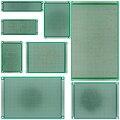 7x9 6x8 5x7 4x6 3x7 2x8 см двухсторонний прототип «сделай сам» универсальная печатная плата печатной платы 4*6 6*8 5*7 3*7