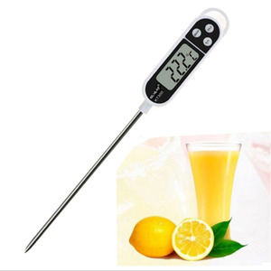 -50°C ~ 300°C Kitchen Digital Thermometer Meat Milk Cooking Oil Deep Fry BBQ Temperature Gauge Food Electronic Thermometer