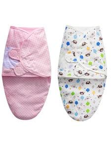 Envelope Swaddle Sleepsack Cocoon Baby Blanket Newborn-Baby 100%Cotton Wrap Babies 0-3-Months