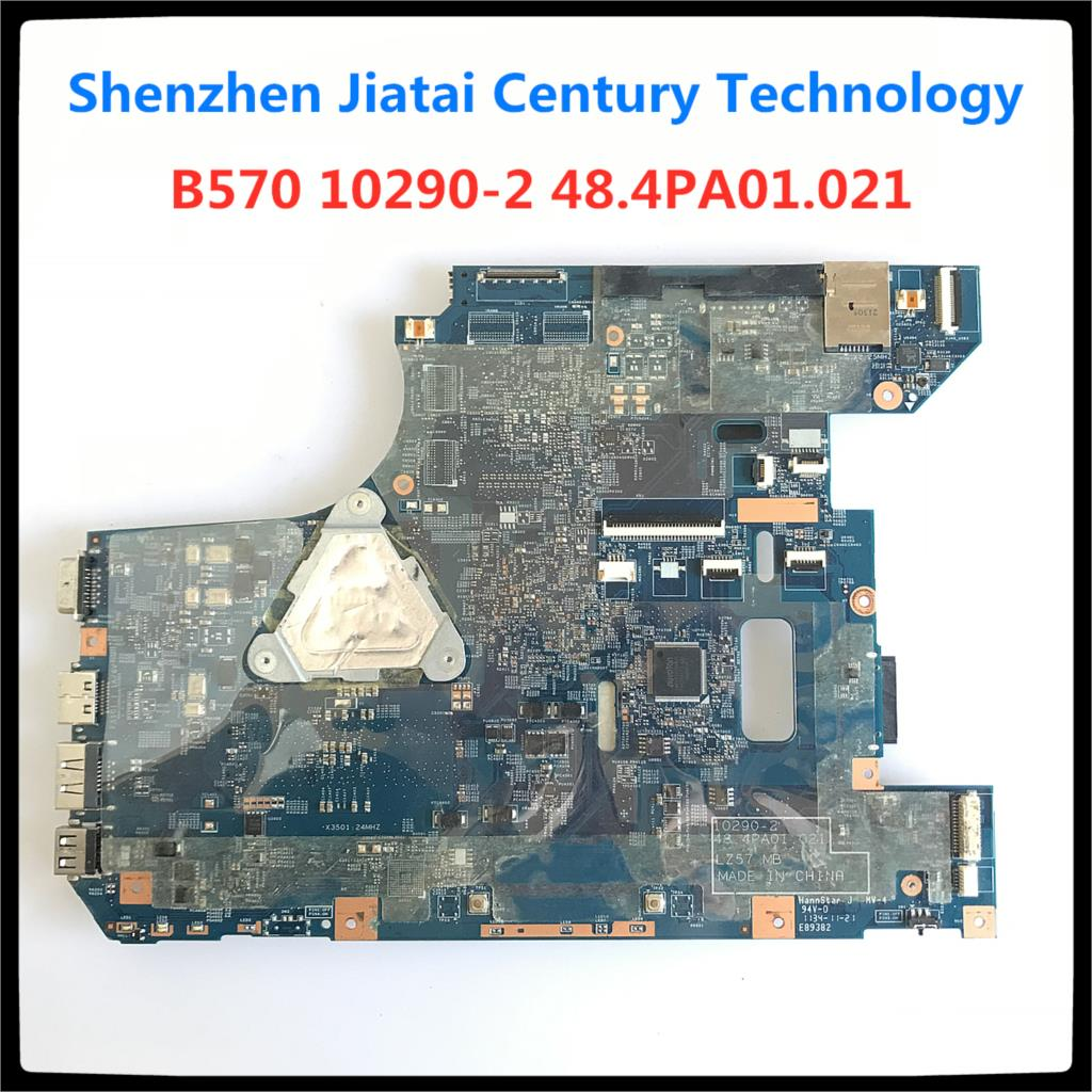 10290-2 48.4PA01.021 LZ57 MB mainboard for Lenovo B570 B570E motherboard V570 V570C motherboard HM65 PGA989 full Tested working 2