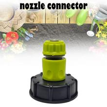 IBC Tank Tap Adapter Garden Hose Connector Plastic Water Hose Pipe Adapter Replacement Valve Fitting Parts Garden Irrigation New plastic ibc tank container 1000 liters 62mm dn40 and 75mm butterfly valve