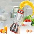 ใหม่แบบพกพาคั้นน้ำผลไม้ถ้วยแก้ว 450ml Mini Rechargable ผลไม้ Citrus ORANGE Lemon JUICE Smoothie Maker เครื่อง
