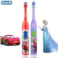 Bambini Spazzolino Da Denti Elettrico Orale Denti Igiene Orale delle B Per I Bambini Con 7200 Volte di Rotazione Del Vibratore Disney Immagini Del Fumetto Orale -b
