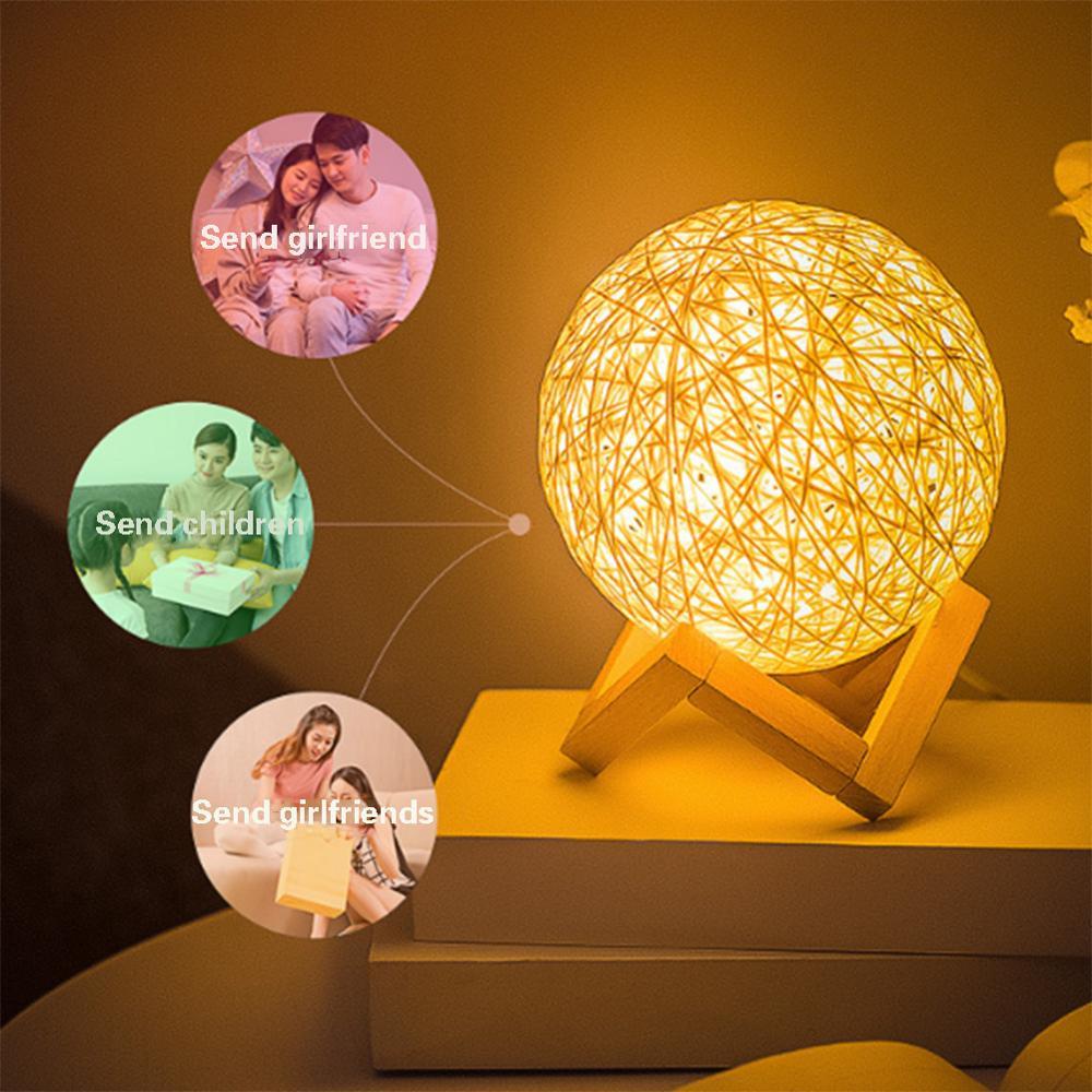 Ночной светильник Sepak Takraw в шариковом стиле с зарядкой от usb, настольная лампа для гостиной, спальни, дома, праздника, рождественские