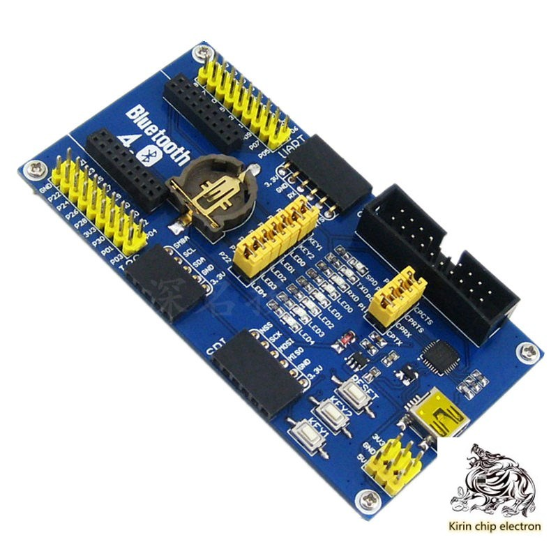 1pcs / Lot Ble4.0 Development Board Bluetooth Module Nrf51822 Backplane Needs Nrf51822 Core Board