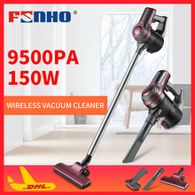 FUNHO JMC-935 Protable 2 In 1 Handheld Wireless Vacuum Cleaner Cyclone Filter 9500Pa Strong Suction Dust Collector Aspirator цена и фото