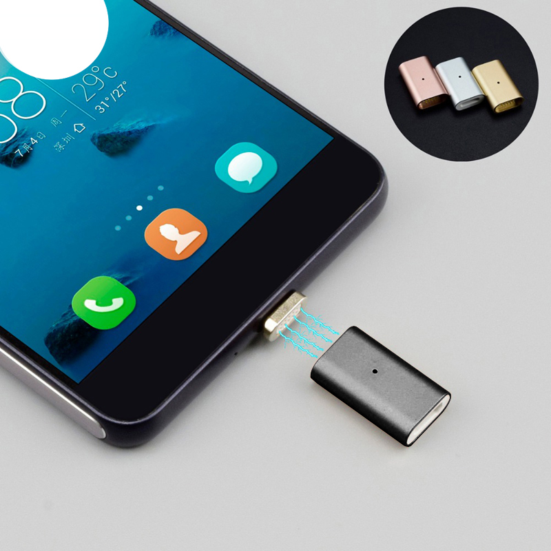 Micro USB Magnetic Adapter For Samsung S6 S7 Edge Note 5 Cable, Magnetic Charger For Android LG Lenovo ZTE Xiaomi HTC