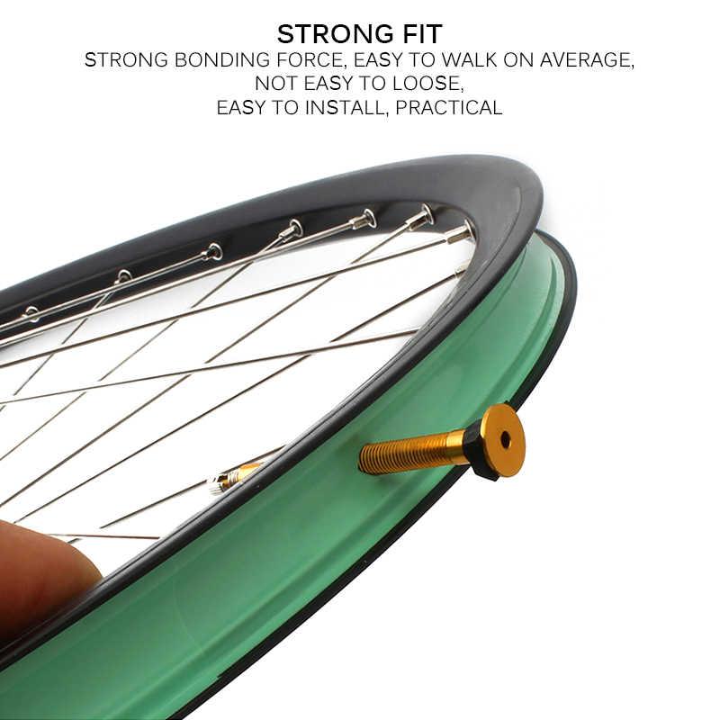 Bande de roues en carbone 27/29/33/35mm léger pratique accessoires de vélo de route de montagne roue carbone roues Tubeless jante bande