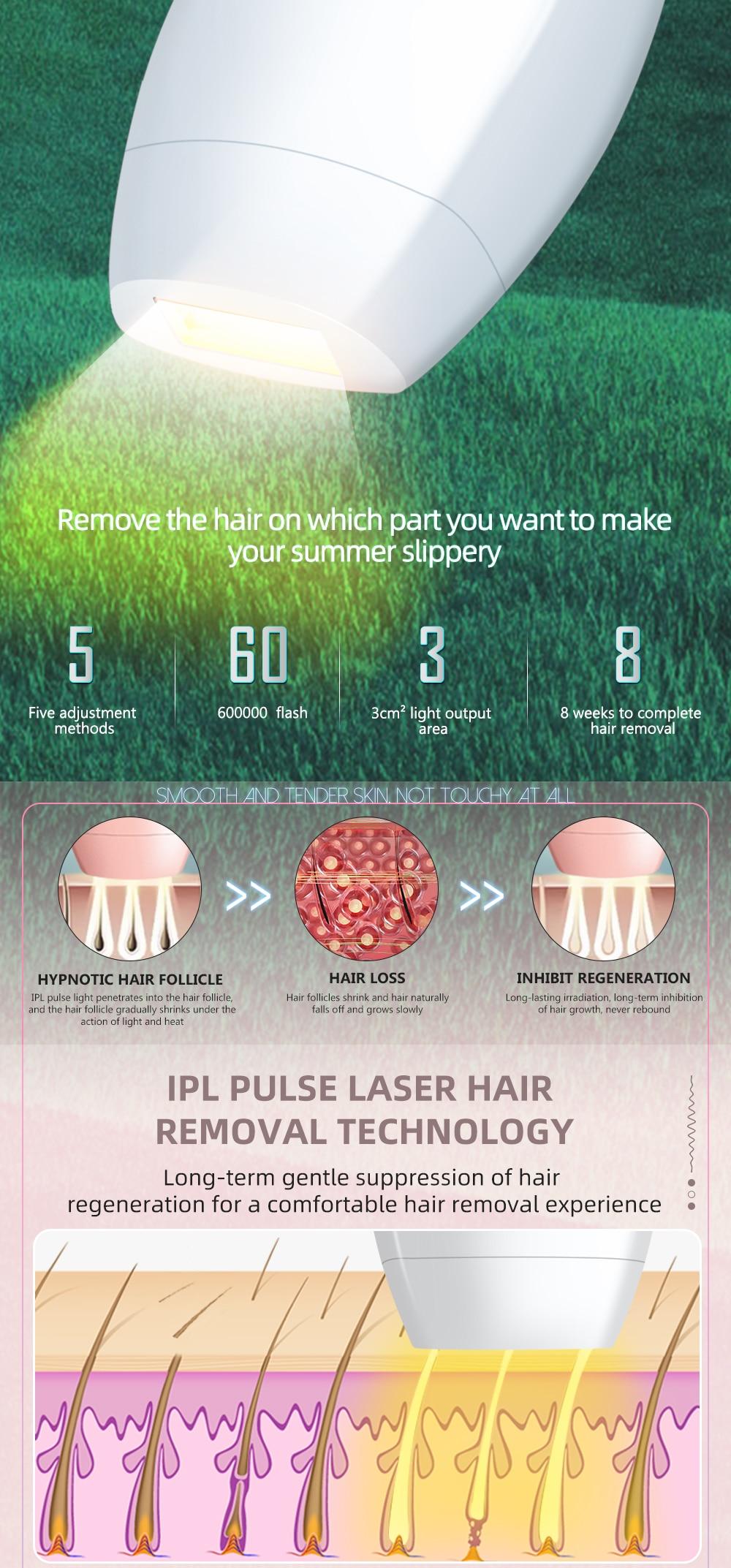 Professional Permanent IPL Laser Depilator = 1MRK.COM