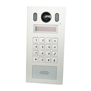 Image 1 - DH VTO6221E P PoE(802.3af) IP מתכת Apartmen פעמון, דלת טלפון, פעמון, IP וידאו אינטרקום, שיחת טלפון app,SIP הקושחה