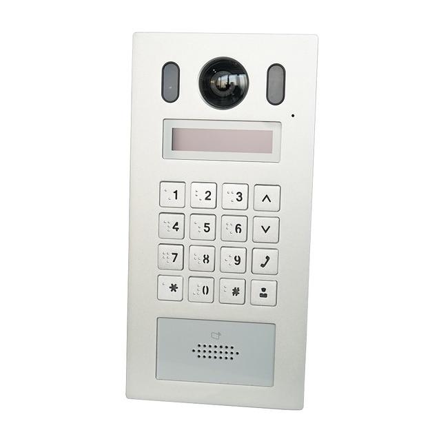 DH VTO6221E P PoE(802.3af) IP מתכת Apartmen פעמון, דלת טלפון, פעמון, IP וידאו אינטרקום, שיחת טלפון app,SIP הקושחה