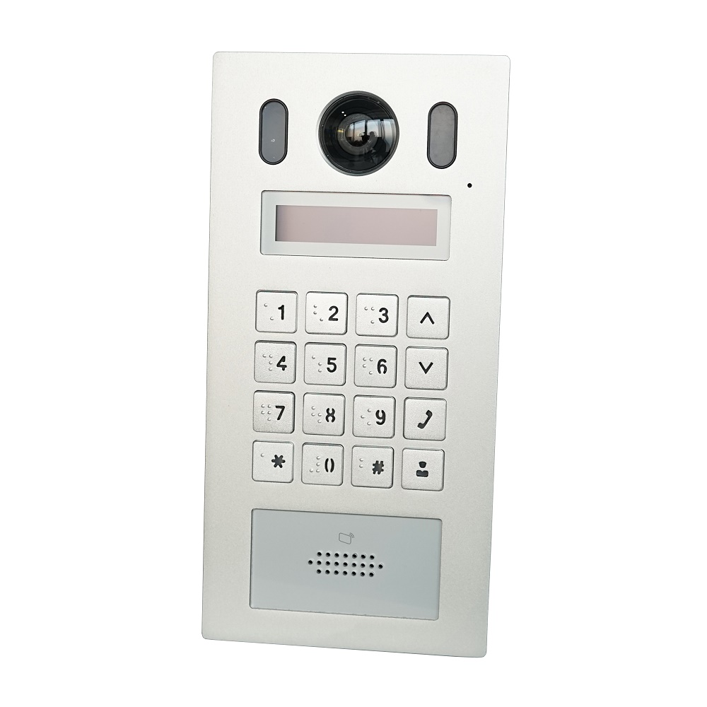 DH VTO6221E-P PoE(802.3af) IP Metal Apartmen Doorbell ,Door Phone,doorbell,IP Video Intercom, Call To Phone App,SIP Firmware